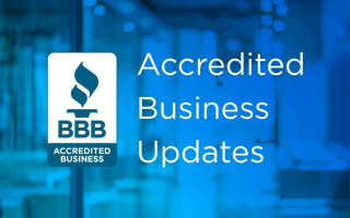 BBB Accredited Business Updates