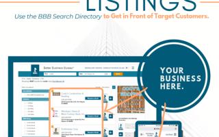 BBB Enhanced Listings