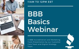 BBB Basics Webinar   Online
