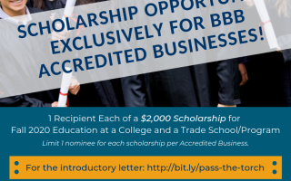 Students Scholarships for Accredited Business