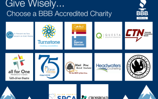 Give Wisely to Local Accredited Charities