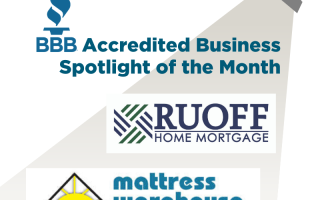 March Accredited Business Spotlight: Ruoff Home Mortgage and Mattress Warehouse