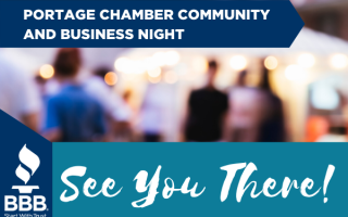 See You at the Portage Chamber Community And Business Night!