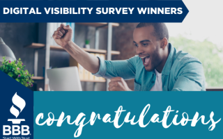 Congratulations to the Digital Visibility Giveaway Winners