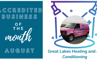 August Accredited Business Spotlight: Great Lakes Heating & Air Conditioning