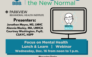 Recapping December's Focus on Mental Health Webinar